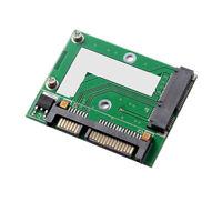 mSATA SSD to 2.5 inch SATA 3.0 Adapter Converter Card SATA 22 PIN 6.0 Gbps