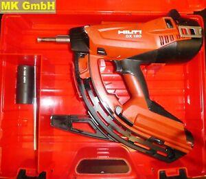 Hilti GX 120 Gasnagler incl. Langmagazin, Betonnagler mit X-120 GM40 im Koffer