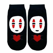 3 x Spirited Away No Face Kaonashi Socks for Sneakers