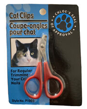 Cat Clips for Trimming Your Cat's Nails, Style No. P1003, Brand New Red
