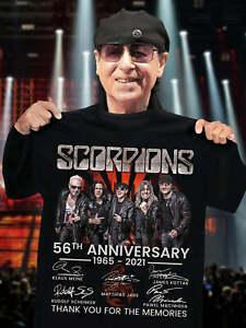 Scorpions Music Band 2021 Memories Shirt, Gift For Scorpions Fan T-Shirt, S-5XL