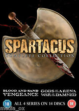 Spartacus: Complete Collection Box Set - Blood Sand Gods Of The Arena Vengeance
