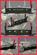Musashi Wooden Table Display Samurai Katana Sword Blade Heavy Duty Single Stand