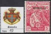 ITALY SOMALIA 1916 Red Cross - Sass. n.19 - cv 100$  MNH**