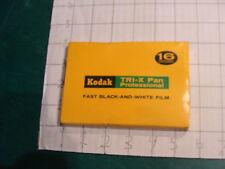 vingage unused film: KODAK TRI-X Pan Professional fat B&W TXP 518 EXP 1968