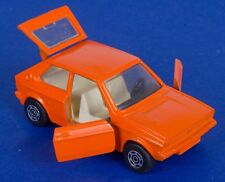 Corgi 289 RARE Colour Trial Volkswagen Polo. Orange. Loose. 1970's