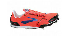 Brooks Pr Ld 4:48 Women's Sprint Track Spikes Shoes Coral Blue Womens Size 8