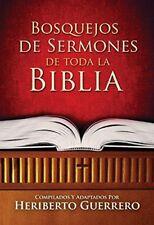 Bosquejos de Sermones de Toda la Biblia (Spanish Edition) by Heriberto Guerrero