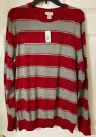 Sonoma Life + Style Long Sleeve Men's sweater size L. 100% Cotton