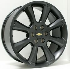 New 22 inch Chevy Black Escalade Wheels Rims Silverado Tahoe Suburban LTZ