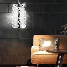 Plafonnier LED CRISTAL suspendu la vie chambre éclairage Chrome Luminaire