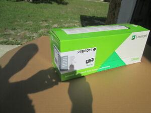 Genuine Lexmark 24B6015 Toner Cartridge - OEM - New