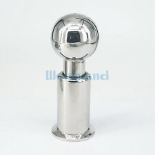 "1.5"" Tri Clamp SUS304 Rotary Spray Ball Clamp CIP Tank Cleaning Homebrew"