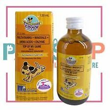Pampered pooch Dog Multivitamins Top Of My Game Performance Enhancer 120 ml