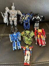 transformers various figures lot all in Various Condition. Some Missing Parts