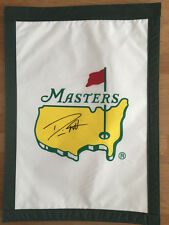Danny WILLETT Signed Augusta Masters Golf Garden Flag (2) Autograph AFTAL COA