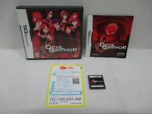 DS -- Devil Survivor -- Can data save! Nintendo DS, JAPAN Game Nintendo. 52887