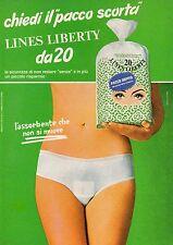 Pubblicità Advertising Werbung 1977 LINES assorbenti Liberty (2)