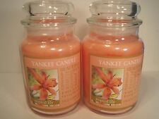 """Yankee Candle, (2) 22 oz. Jars """"Tropical Lily"""""""