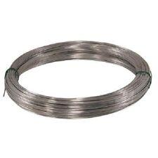 (6) rolls Hillman 122339 100' ft 12 gauge Solid Galvanized Wire