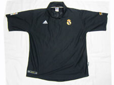 Figo 10 real madrid away camiseta Camisa maglia Jersey 2002 2003 rar rare size XL