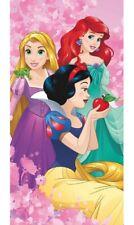 Disney Frozen Princess Elsa and Anna Kids Beach Towel Water Absorbent 70 X 140 cm Pink
