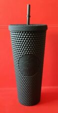 Starbucks Studded Black Thermobecher Tumbler Rar! 24oz, Plastic. New