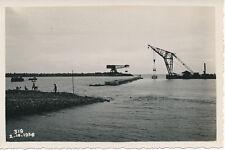 POINTE NOIRE 1936 - Chemin de Fer Ponton-mâture en Action - Congo  PCH 253