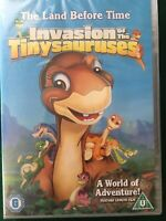 The Land Before Time 11 - Invasion of the Tiny Sauruses DVD (2005) Brand New