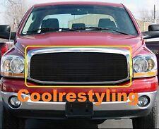 For 06 07 08 Dodge Ram Sport Black Billet Grille Grill Insert