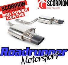 Skorpion saub 029C Audi RS4 B7 Edelstahl hinten Boxen Auspuff inkl. Armaturen schwarz Tipps