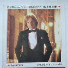 RICHARD CLAYDERMAN en concert Coup de coeur 2XLP DEL 5 7000054/055