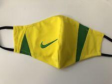 Nike Brazil national football/soccer jersey face mask