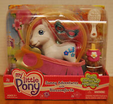 MIB My Little Pony G3 Purse Sunny Adventures with BLOSSOMFORTH