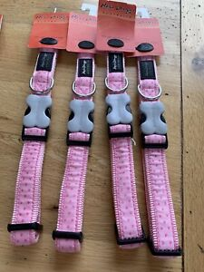 Red Dingo Love Sprinkles Dog Collar, Pink, Large