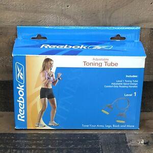 Reebok Adjustable Toning Tube Kit Level 1 *Tone Your Arms, Legs, Back, & More*