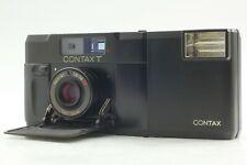 [NEAR MINT w/ T14 Flash] CONTAX T Black Rangefinder 35mm Film Camera From JAPAN