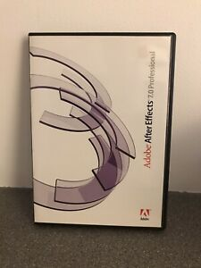 Adobe After Effects 7.0 Professional - Mac - Full Retail - Box & Discs