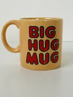 Vintage FTD Big Hug Mug Coffee Cup HBO True Detective Matthew McConaughey Peach