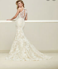 Pronovias Drilos Off-White Wedding Dress - Perfect Conditions