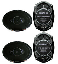 "4) New Kenwood KFC-6995PS 6x9"" 1300 Watt 5-Way Car Audio Coaxial Speakers Stereo"