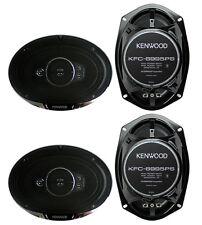 "4) New Kenwood KFC-6995PS 6x9"" 1300 Watt 5-Way Car Audio Coaxial Speakers Stereo"