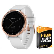 Garmin Vivoactive 4S Reloj Inteligente Blanco/Dorado Rosa con 1 año de garantía extendida