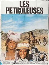 LEGEND OF FRENCHIE KING Les PETROLEUSES French Grande poster BARDOT CARDINALE