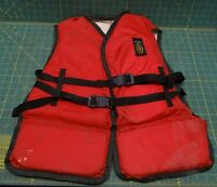 Type III PFD Red 601-Adult Size Miltco Electra Life Vest / Jacket
