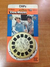 Rare Vintage 1980 View-Master 3 Reel Pack - TV Series Chips- New & Sealed