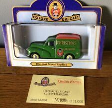 Oxford Diecast MM006 Christmas 2005 Morris Minor Van