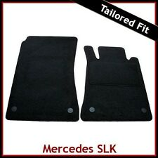 MERCEDES SLK R171 2004-2011 Tailored Carpet Car Floor Mats BLACK