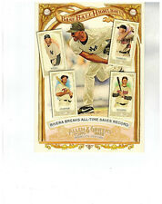 2012 TOPPS ALLEN & GINTER BOX TOPPER BASEBALL HIGHLIGHTS MARIANO RIVERA BH-4