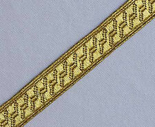 5 Yards. Gold Military Braid. Uniform Trim. Pilot Galon. Army, Navy. Vestment